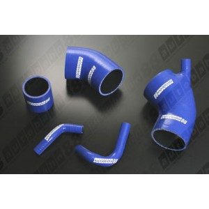 Silicone Intake and Boost Hose Kit for Toyota Celica GT-Four ST185 A/V / Rally / RC 3S-GTE 89-93 (Blue) - Autobahn88 (ASHK203-B)