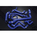 Silicone Heater Hose Kit for VW Corrado G60 1.8L SuperCharger 1988 - 1995 (Blue) - Autobahn88 (ASHK217-B)