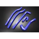 Silicone Heater Ancillary Hose Kit for VW Golf MKI 1.6L 1.8L 1974 - 1984 (Blue) - Autobahn88 (ASHK223-B)