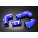 Silicone SuperCharger Hose Connecting Kit for VW Corrado G60 1.8L SuperCharger 1988 - 1995  (Blue) - Autobahn88 (ASHK224-B)