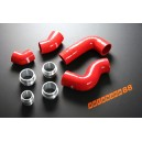 Silicone Intercooler hose kit for VW Golf MK5 (Red) - Autobahn88 (ASHK111-R)