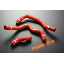 Silicone Radiator hose kit for BMW Mini Cooper / S 2006 up (Red) - Autobahn88 (ASHK120-R)