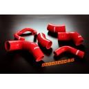 Silicone Intercooler Hose kit Lancer Evo 7 8 9 CT9A (Red) - Autobahn88 (ASHK106-R)
