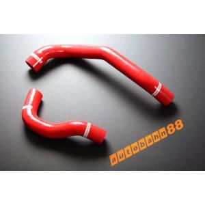 Silicone Radiator hose kit for Nissan Skyline R33 2.5T RB25DET (Red) - Autobahn88 (ASHK10-R)