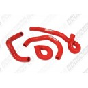 Silicone Heater hose kit for Nissan Skyline R33/34 GT-S GT-T RB25DET (Red) - Autobahn88 (ASHK148-R)