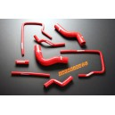 Silicone Radiator Heater hose kit for Subaru Impreza WRX/ WRX Sti GC8 96-00 (Red) - Autobahn88 (ASHK01-R)