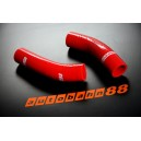 Silicone Radiator hose kit for Toyota MR-S ZZW30 1999-2006 (Red) - Autobahn88 (ASHK95-R)