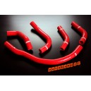 Silicone Radiator hose kit for Toyota MR2 SW20 3SGTE REV 93-99 Turbo (Red) - Autobahn88 (ASHK105-R)