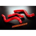 Silicone Radiator Hose Kit Mazda RX8 SE3P (Red) - Autobahn88 (ASHK100-R)