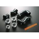 Silicone Intercooler hose kit for VW Golf MK5 (Black) - Autobahn88 (ASHK111-BK)