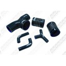 Silicone Air Intake Induction Hose Kit Ferrari F355 355 94-99 (Black) - Autobahn88 (ASHK190-BK)
