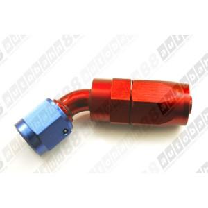 -8 AN 8 AN8 Fitting Adapter Swivel Reusable Hose End 45 Degree- Autobahn88 (FT002-A08)