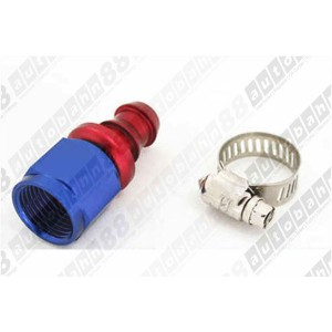 -6 AN 6 AN6 Push-On Fuel Hose Fitting Straight - Autobahn88 - (FT004-A06)