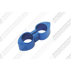 AN -8 (AN8 AN8) 15.5mm Blue Billet Brake Hose Separator - Autobahn88 - (FT016-A08)