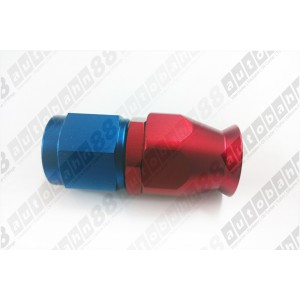 AN -6 AN6 Fittings Adaptor PTFE Teflon Swivel Hose End Straight Fuel Adapter - Autobahn88 - (FT158-A06)