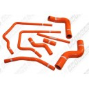 Silicone Radiator Heater hose kit for Subaru Impreza WRX/ WRX Sti GC8 96-00 (Orange) - Autobahn88 (ASHK01-O)