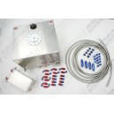 Fuel Surge Tank Aluminum 40 Litre + 4 Litre Swirl Pot System Completed Kit for Rally Racing Sport - PPFT02a