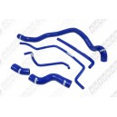 Silicone Radiator Heater Hose Kit for Saab 9-3 9-5 02~  (Blue) - Autobahn88 (ASHK143-B)