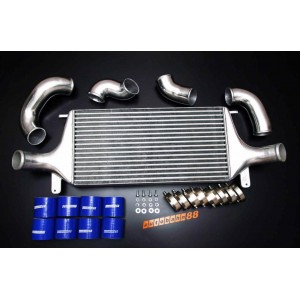 Autobahn88 Intercooler complete kit for Nissan Skyline R32 GTR W/ GTR Intercooler 610x300x100mm core size - CARP033a
