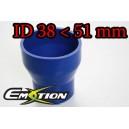51mm 38mm Silicone Straight Reducer Hose Silicon Blue - Emotion ( EASHU02-3851B )