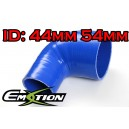 44mm 54mm Silicone 90 Degree Reducer Hose Blue - Emotion ( EASHU04-4454B )