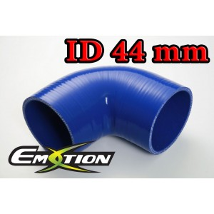 44mm 1.75 inch Silicone Elbow 90 Degree Hose Blue - Emotion ( EASHU03-90D44B )
