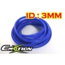 3mm ID Silicone Vacuum Hose Tubing Blue 1 meter - Emotion ( EASHU06-3B )