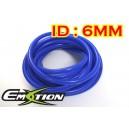 6mm ID Silicone Vacuum Hose Tubing Blue 1 meter - Emotion ( EASHU06-6B )