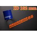 Silicone Coupling Hose 102mm 4 inch Length 76mm Blue - Autobahn88 ( ASHU01-102B )