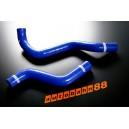 Silicone Radiator hose kit for Altezza SXE10 (Blue) - Autobahn88 (ASHK32-B)