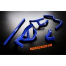 Silicone Radiator hose kit for Rover Mini Cooper (Blue) - Autobahn88 (ASHK104-B)