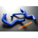 Silicone Radiator Coolant Hose kit Ford Focus 2.0 Zetec-E 00-04 (Blue) - Autobahn88 (ASHK108-B)