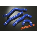 Silicone Radiator Coolant Hose Lancer EVO 10 CZ4A 4B11 (Blue) - Autobahn88 (ASHK139-B)