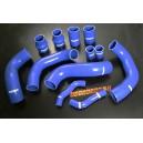 Silicone Intercooler hose kit for Nissan Skyline GTR 35 (Blue) - Autobahn88 (ASHK133-B)