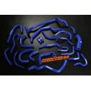 Silicone Heater hose kit for Nissan S13 ca18det (Blue) - Autobahn88 (ASHK134-B)