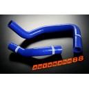 Silicone Radiator hose kit for Toyota Trueno AE86 4A-GEU Corolla  83-87 83 87 (Blue) - Autobahn88 (ASHK109-B)