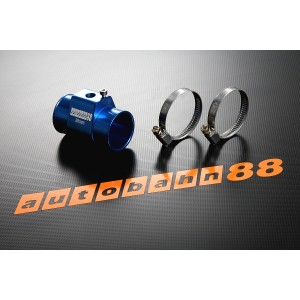 38mm Tee-Joint Water temp Gauge Radiator Hose Sensor Adaptor BLUE - Autobahn88 ( ASHU60-38B )