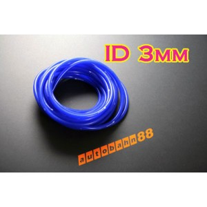 3mm Silicone Vacuum Tube Hose 1m Silicon BLUE - Autobahn88 ( ASHU06-3B )