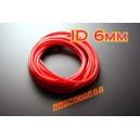 6mm Silicone Vacuum Tube Hose 1m Silicon RED - Autobahn88 ( ASHU06-6R )