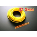 3mm Silicone Vacuum Tube Hose 1m Silicon YELLOW - Autobahn88 ( ASHU06-3Y )