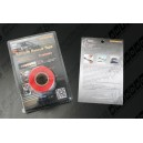 Silicone Rescue Repair Tape Self Fusing Bonding Electrical Wires Hose Cover 25mm Red - Autobahn88 ( SRT-3-R )