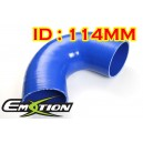 114mm 4.5 inch Silicone Elbow 135 Degree Hose Blue - Emotion ( EASHU03-135D114B )