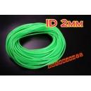 2mm ID Silicone Vacuum Hose Tubing 1 meter Green - Autobahn88 ( ASHU06-2G )