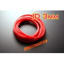 3mm Silicone Vacuum Tube Hose 5 Meters Silicon RED - Autobahn88 ( ASHU06-3R )