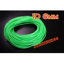 6mm Silicone Vacuum Tube Hose 3 Meters Silicon GREEN - Autobahn88 ( ASHU06-6G )