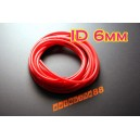 6mm Silicone Vacuum Tube Hose 3 Meters Silicon RED - Autobahn88 ( ASHU06-6R )