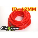 12mm ID Silicone Vacuum Hose Tubing Red 3 Meters - Emotion ( EASHU06-12R )