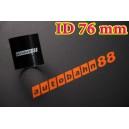 Silicone Coupling Hose 76mm 3 inch Length 76mm Black - Autobahn88 ( ASHU01-76BK )