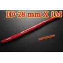 28mm ID Silicone Straight Hose 1 Meter Red (1.1 inch) - Autobahn88 ( ASHU01-1M28R )