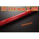 114mm ID Silicone Straight Hose 1 Meter Red (4.5 inch) - Autobahn88 ( ASHU01-1M114R )